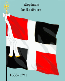 Image illustrative de l'article Régiment de La Sarre