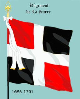 Rég de La Sarre 1685