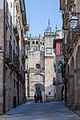 Rúa e Catedral de Ourense. Galiza. Galicia. Eue.jpg