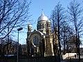 Rīgas Sv. Trijādības pareizticīgo katedrāle (1907), Kr. Barona iela 126, Rīga, Latvia - panoramio (3).jpg