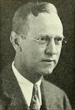 Bob Fetzer - Fetzer pictured in 1938 Yackety Yack, North Carolina yearbook
