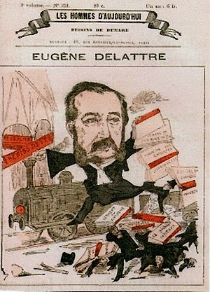 Ramburelles - Front page of Les hommes d'aujourd'hui in 1870