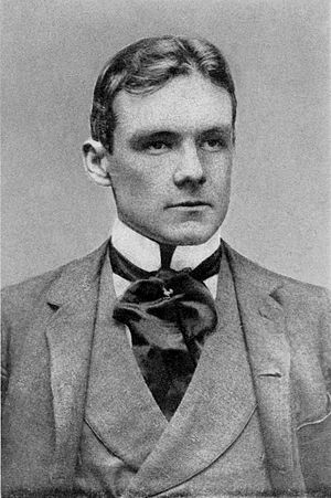 Richard Harding Davis - Photograph taken in New York, 1890