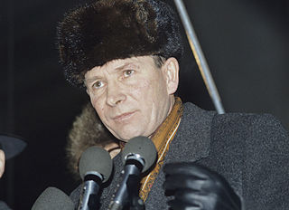 Nikolay Travkin Russian politician