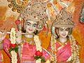 Radha Radhika Krishna Madhava in a Bangalore temple.jpg