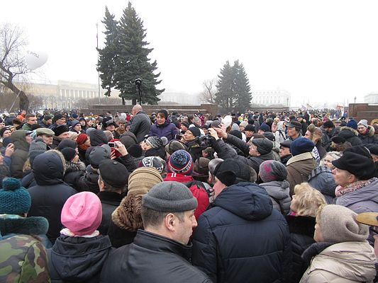 Rally against cession of St Isaac Cathedral to The Russian Orthodox Church (St. Petersburg, 2017-01-28) 33.jpg