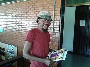 Ramón Esono Ebalé - Image: Ramón Esono, caricaturista ecuatoguineano