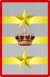 Rank insignia of tenente generale capo di SM Esercito of the Italian Army (1918).png
