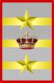 Rank insignia of tenente generale capo di SM Esercito of the Italian Army (1918).png