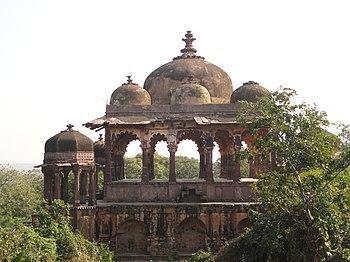 Os portões externos da Fortaleza de Ranthambor