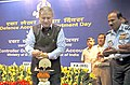 Rao Inderjit Singh lighting the lamp at the Defence Accounts Department Day Celebrations, in New Delhi on October 01, 2015. The Chief of the Air Staff, Air Chief Marshal Arup Raha is also seen.jpg