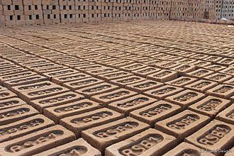 Brick - Raw (green) Indian brick
