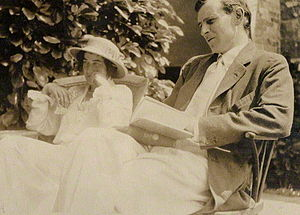 Raymond Asquith - Raymond Asquith and his wife in 1913