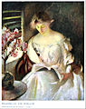 Reading at the Window by Edmund C Tarbell.jpg