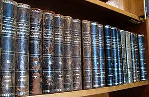 Schaff–Herzog Encyclopedia of Religious Knowledge - The German Realenzyklopädie für protestantische Theologie und Kirche, which Schaff-Herzog is based on.