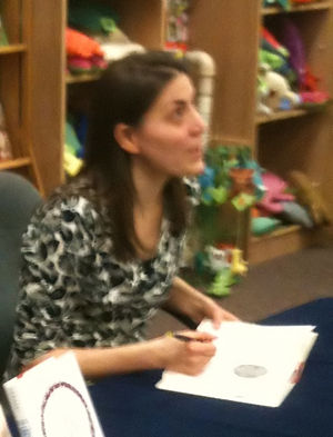 Rebecca Stead - Stead at a book signing in 2010