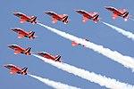 Red Arrows - RIAT 2009 (3752408977).jpg