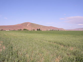 Red Mountain (Washington) - Red Mountain as seen from the east in 2007.