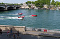 Red boats, Paris 13 June 2015.jpg