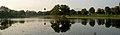 Reflections over a Pond at Shilparamam Jaatara.JPG