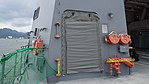 Refueling hose reels hatch of JS Fuyuzuki(DD-118) at JMSDF Maizuru Naval Base July 29, 2017 03.jpg