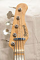 Regenerate Vintage Recording series Telecaster Bass P-J style 5 string bass headstock (white).jpg