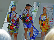 Regina Schleicher Siegerin DM-Mannheim 2005-06-26