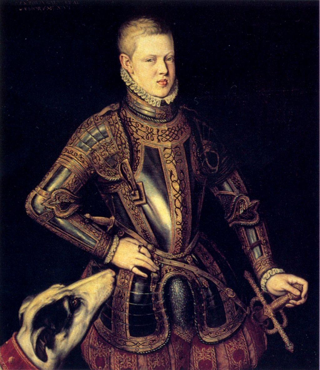 Sebastian I de Portugal por Cristóvão de Morais