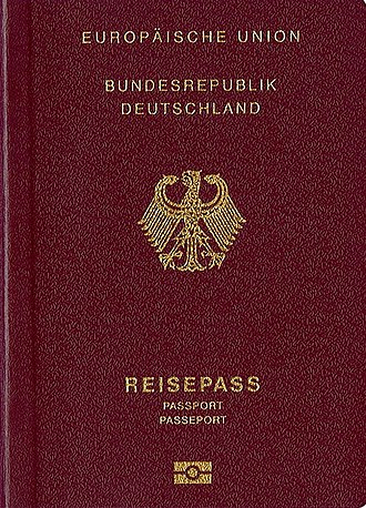 Citizenship of the European Union - German Passport