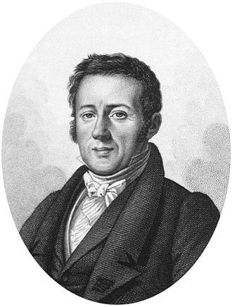 René Lesson - Portrait of Lesson by Tardieu (1827)