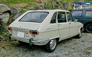 Renault 16 - 1968–1970 Renault 16 TS