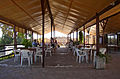 Restaurant at Ruins of Salamis (North Cyprus) 2003.jpg