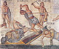 Retiarius vs secutor from Borghese mosaic.jpg