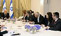 Reuven Rivlin opened the consultations after the 2015 elections with Yesh Atid (1).jpg