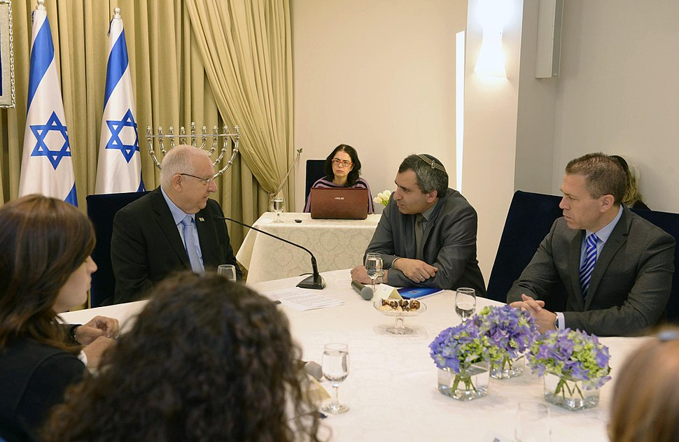 Reuven Rivlin opened the consultations after the 2015 elections with the Likud Party (2)