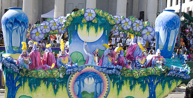 Mardi Gras Themed Sheet Cake