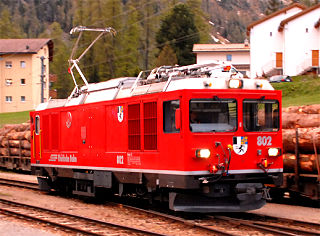 class of 2 Swiss electro-diesel locomotives
