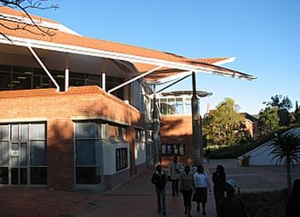 Rhodes University - The new Eden Grove building at Rhodes University.
