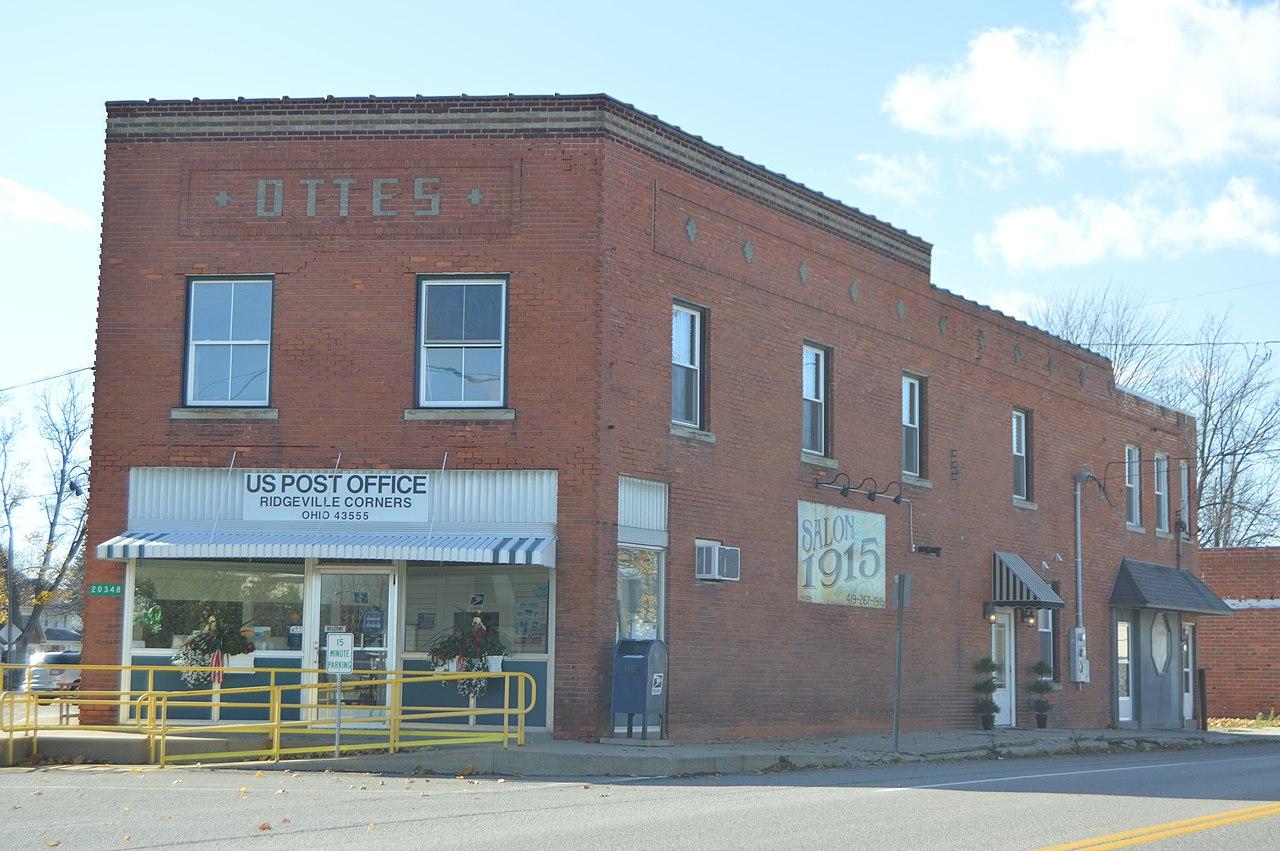Ohio henry county ridgeville corners - File Ridgeville Corners Post Office 43555 Jpg