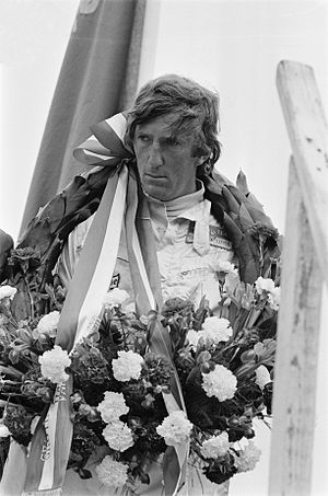 1970 Formula One season - Austrian Jochen Rindt won the Drivers' Championship posthumously, the only time this has happened in Formula One history. He drove for Lotus that season.