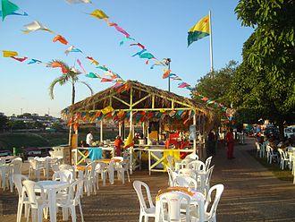 Festa Junina - An arraial in Rio Branco, Acre