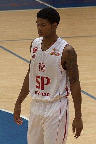 Rion Brown - Brown with Hapoel Tel Aviv, in 2014.
