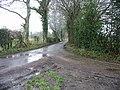 Road junction near Bladbean - geograph.org.uk - 336353.jpg