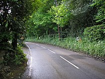 Road mirrors, Brasted Chart, Kent - geograph.org.uk - 173958.jpg