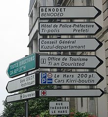 Breton language - Wikipedia, the free encyclopedia