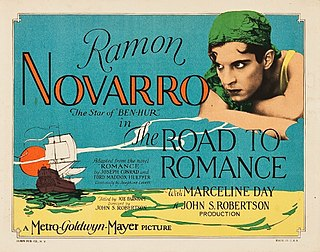 <i>The Road to Romance</i> 1927 film by John S. Robertson