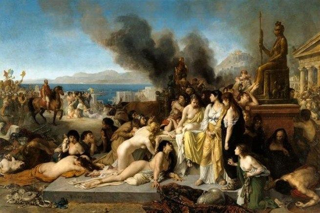 Robert-fleury-Le Dernier Jour de Corinthe