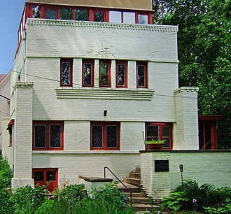 Robert M. Lamp House - The Lamp House viewed from the east