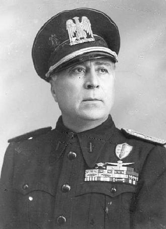 Fall of the Fascist regime in Italy - Roberto Farinacci, Ras of Cremona, a fascist hardliner, staunch ally of the Germans, and opponent of Grandi