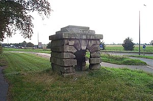 Barnsdale - Image: Robin Hood's Well geograph.org.uk 237619